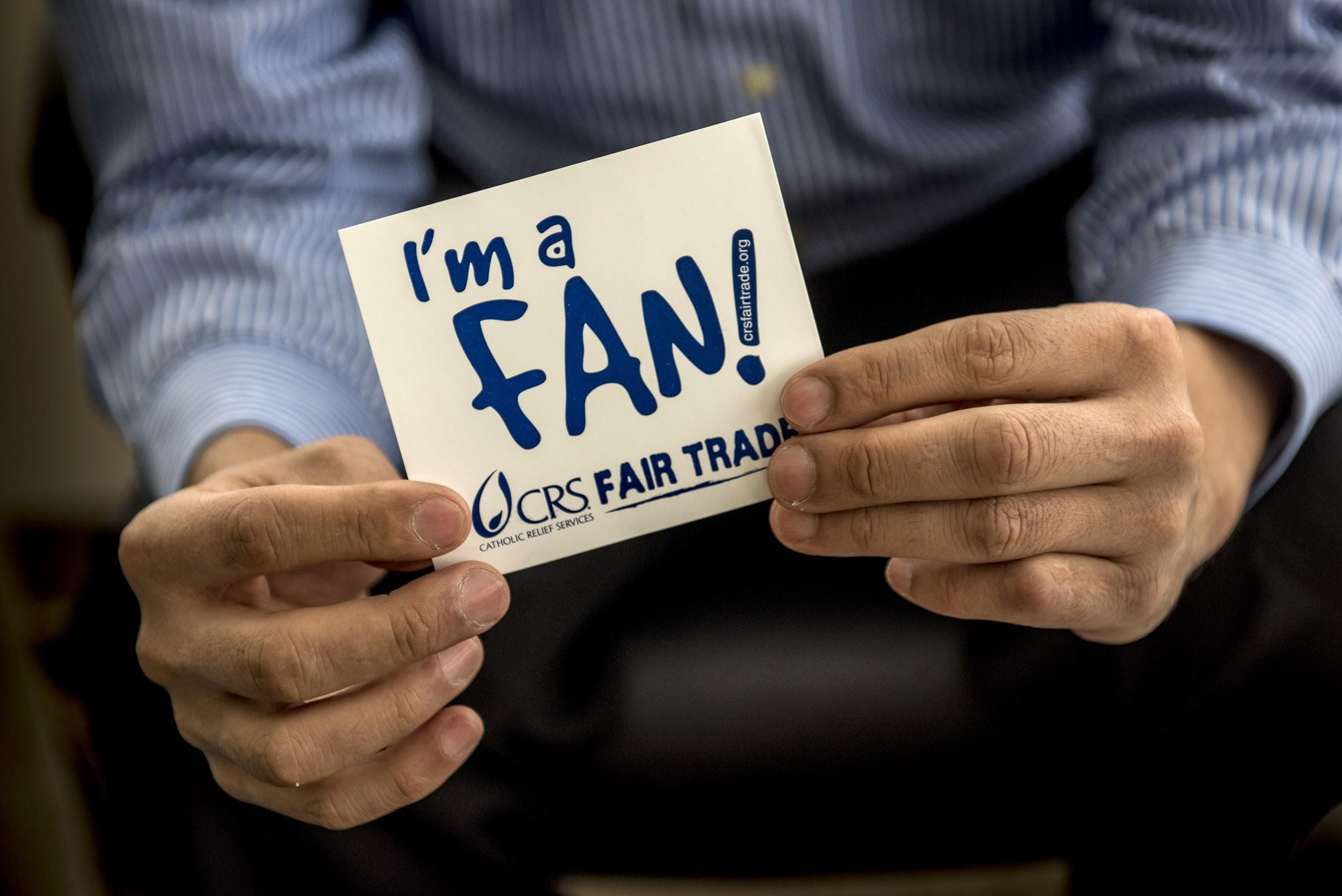 I'm a Fan Sticker